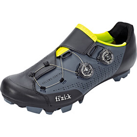 Fizik Infinito X1 MTB Shoes Men grey/yellow fluo